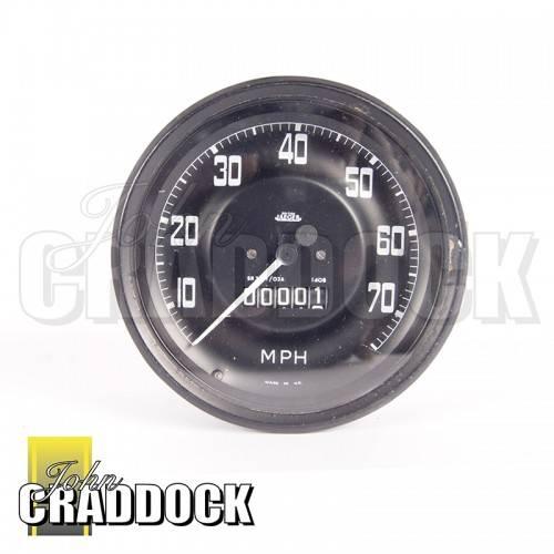 279340 Speedometer 750 X 16 Tyres Pre 1967 Mph