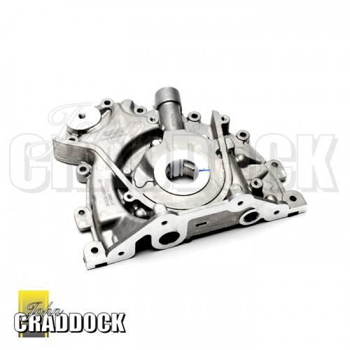 Lr013487 engine oil pump 2 7 v6 and 3 0 v6 diesel for Motor oil 101 answers