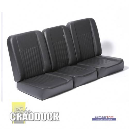 Deluxe Black Vinyl Full Seat Set Series 3