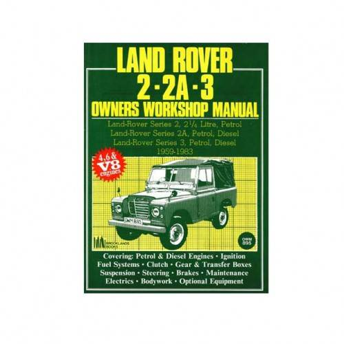 Brooklands Workshop Manual 1958