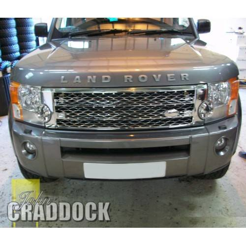 Discovery 3 Chrome Front Grille Badge Required