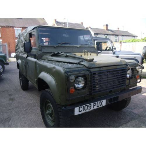 Military Land Rovers For Sale