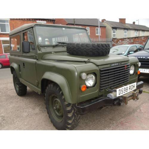 Used Land Rovers For Sale: Military Land Rovers For Sale