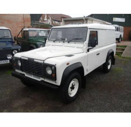 Land Rover 110 County in White