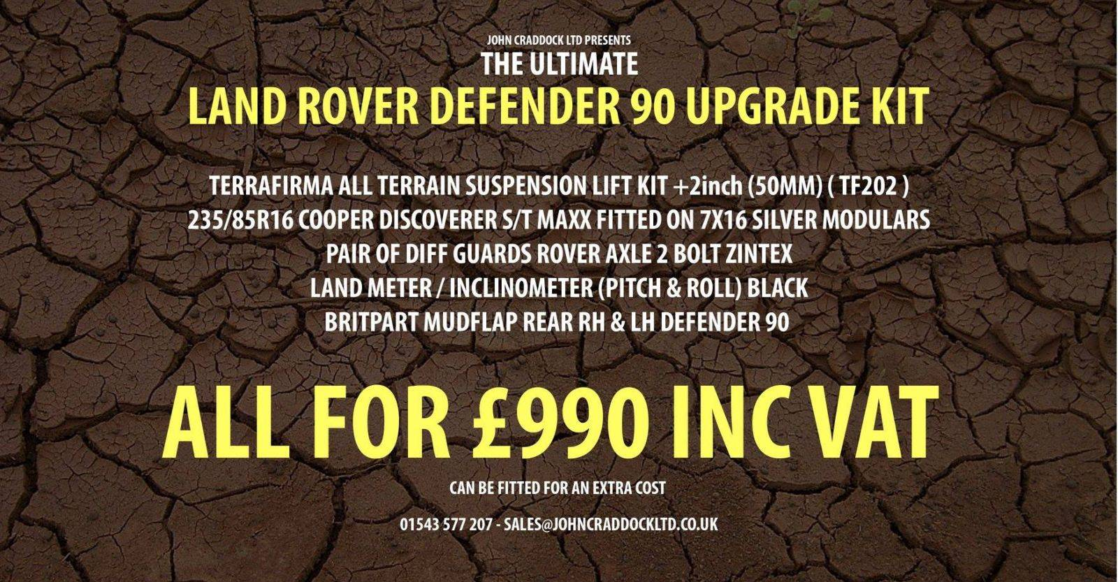 Land Rover Defender Accessories Kit Offers Available Now
