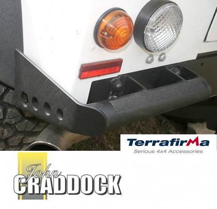 TF570: Terrafirma Heavy Duty Rear Corner Bumpers Defender 90