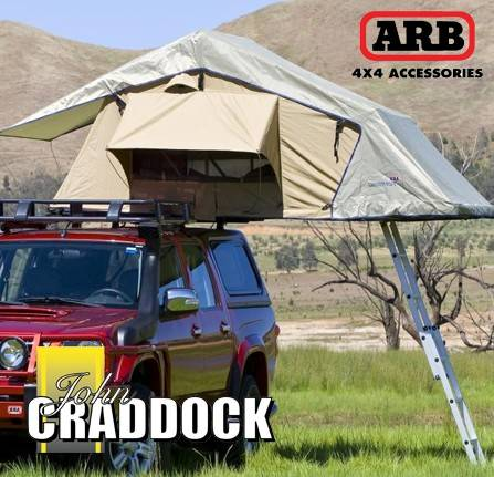 ARB3101: Arb Simpson Rooftop Tent 3 - Includes Ladder & Cover