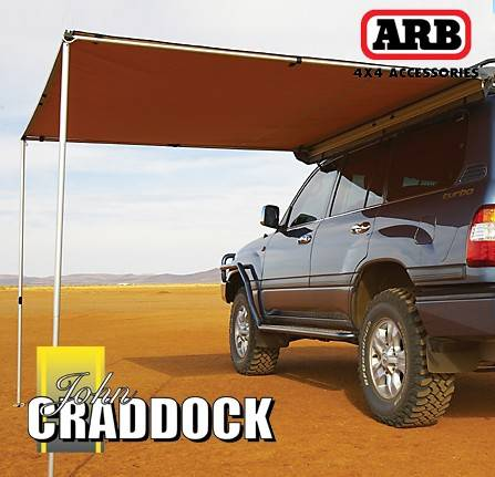 ARB3110: Arb Touring Awning 1.25M x 2.1M - Waterproof & Uv Protection
