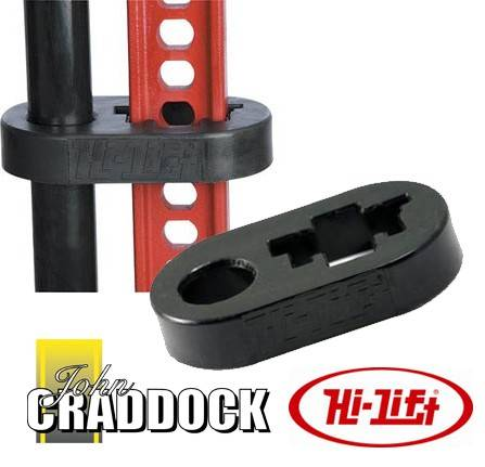 HKB: Hi Lift Handle Keeper Clamp [black]