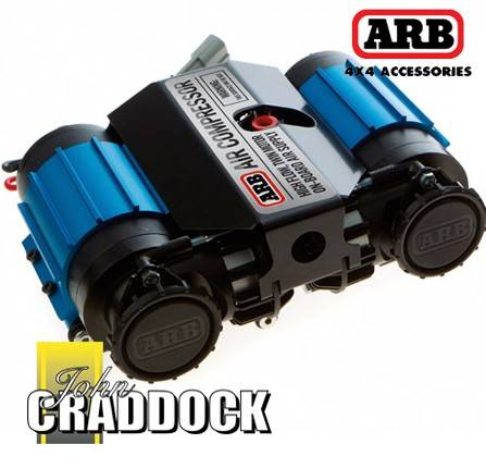 CKMTA12: Arb Twin Motor Air Compressor - High Performance