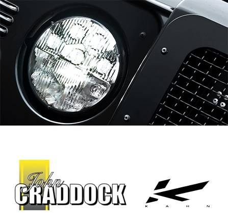 Kahn Diamond Led Military Headlamps (Pair)