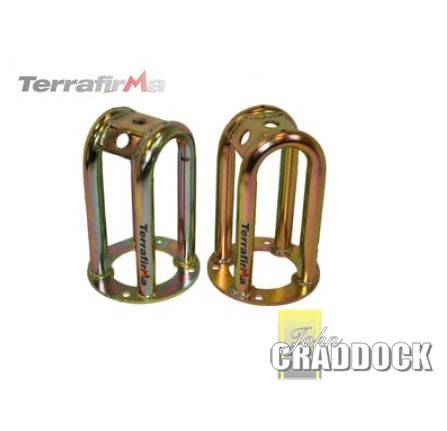 Terrafirma Skeleton Front Shock Turrets Standard Height Pair 90/110/130/D1/RRC