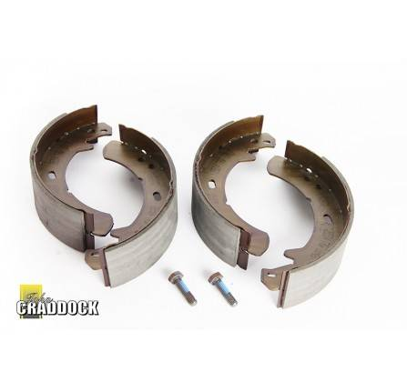 Trw Transmisson Brake Shoes 90/110 from LA935630. Discovery 2. Discovery 1 1993 On. Range Rover Classic from MA647645. and All P38 Range Rover