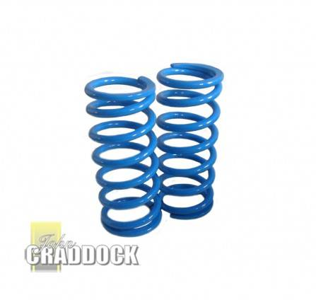 Bm Blue Spring Upgrade 110 Rear 100mm 130 Rear 55MM. (Pair)