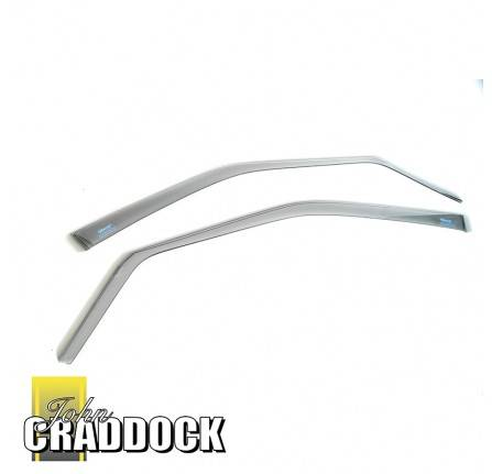 Climair Wind Deflectors - Discovery 3 and 4 Front Pair