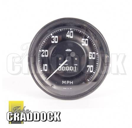 Speedometer 750 x 16 Tyres Pre 1967 Mph Reconditioned Exchange Unit Surcharge £150.00 Refundable on Return Of Old Unit