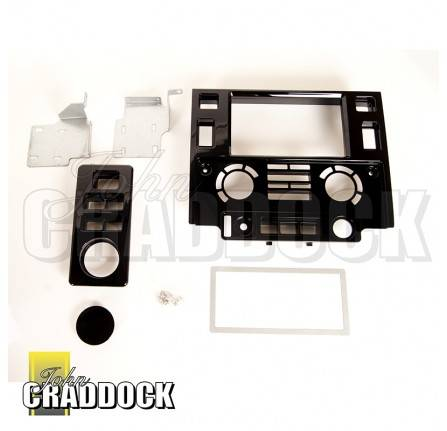 DA2608: Piano Black Puma Double Din Unit Fascia 2007 Onwards
