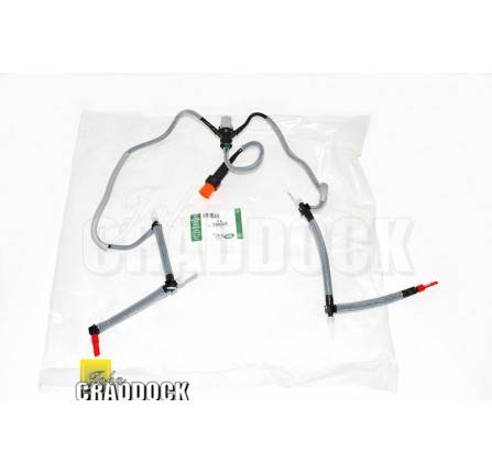 Leak Off Pipes Assembly Includes Fuel Temperature Sensor 2.7 Diesel