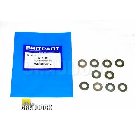 Washer for Buffer on Bonnet Spare Wheel Mounting 90/110 and Other  Applications WB108051L