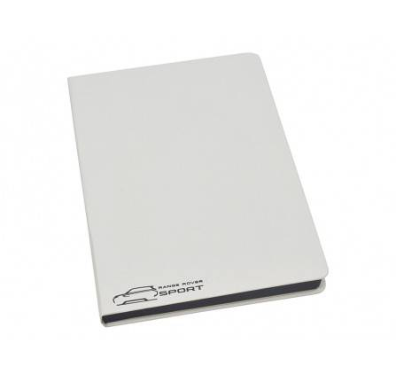 Range Rover Sport Large White Notebook