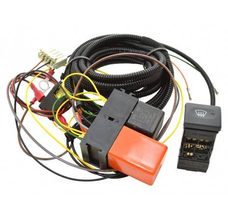 da1401 defender heated front windscreen wiring kit 2002. Black Bedroom Furniture Sets. Home Design Ideas