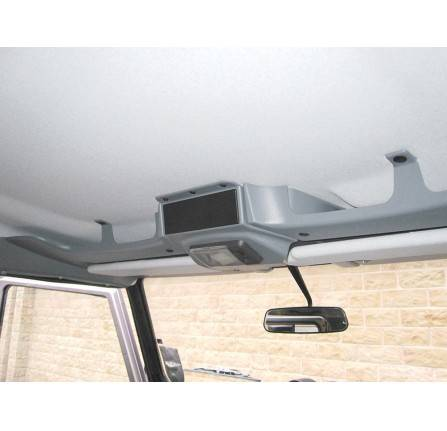 90/110 Roof Console Grey Supplied in Three Separate Pieces The Console Has Been Designed to Fit All Post 1983 Defender without Sunroof with A Factory Fitted Headling. No Removal Or Cutting Required (Some Later Models Will Require Trimming Of The Cen