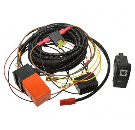 Defender Heated Front Windscreen Wiring Kit upto 2002 Use with Heated Screen LR042724