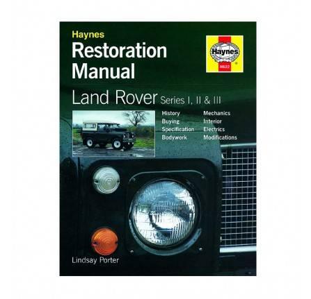jc315 land rover series i ii and iii haynes restoration manual by lindsay porter. Black Bedroom Furniture Sets. Home Design Ideas