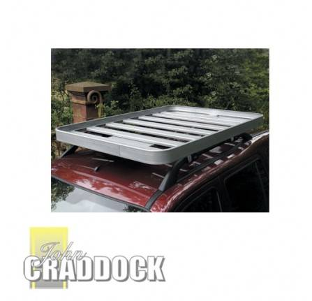 Freelander 1 Roof Rack 1400 x 1500mm Fitted Rail Rack for Vehicles with Genuine Roof Rails