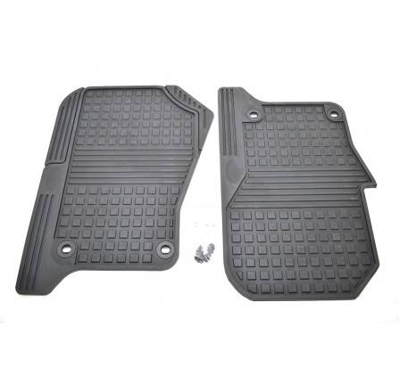 Genuine Floor Mats Rubber Contoured RHD Front Pair