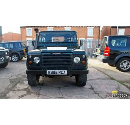 W995 RCA: Land Rover 90 Defender Td5 county with 6 seater 2000 low mileage with history