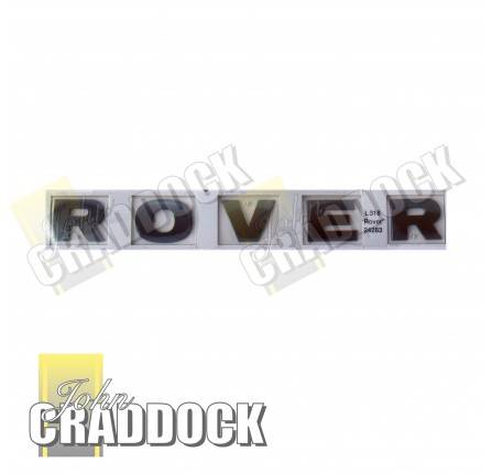 Rover Decal Badge