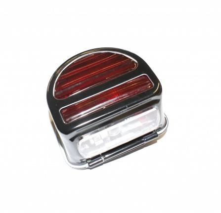 Rear D Lamp with Bar 1948-54 Non Genuine