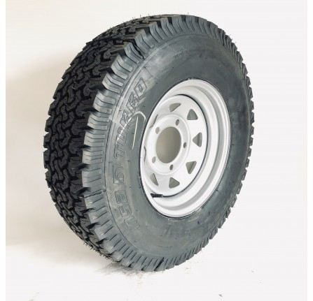 235/85R16 Insa Turbo Ranger Fitted on 7X16 Silver Spoke Set Of 4 Includes Delivery to Uk Mainland (Restrictions Apply)