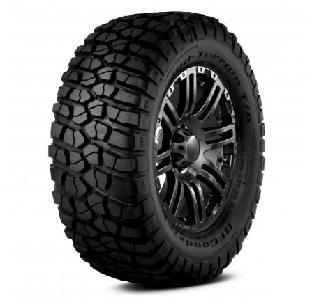265/75R16 Bf Goodrich KM2 Mud Terrain 119 (Q) Outlined White Lettering Out