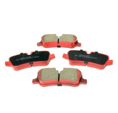 Terrafirma Premium Rear Brake Pad Discovery 4 Range Rover Sport 2005 - 2010, Discovery 3 2004 - 2009
