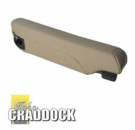 Armrest RH Stone Beige Leather Inboard to 2A771054