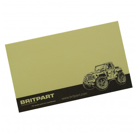 Britpart Post-it Notes Pack Of 10