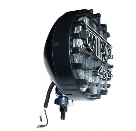 Wipac 8 Driving Lamps in Black