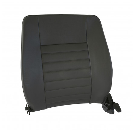 Backrest Outer LH in Grey Vinyl