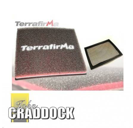 Terrafirma Off Road Foam Air Filter for Defender TD5 & Discovery TD5