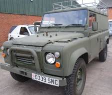 1986 Land Rover 110 Military 2.5 200 tdi very good Condition