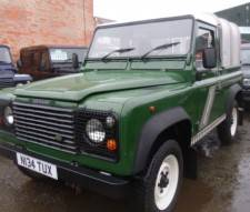 1995 Land Rover Defender 90 300 Tdi Truck Cab With Only 65k Miles