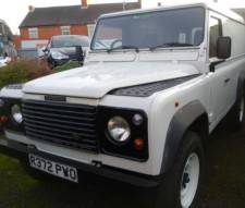 1998 Land Rover 110 3 door Defender 300 tdi One Owner Full History Low Mileage