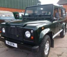 2002 Land Rover Defender 5 Door County Station Wagon Td5 with Private Plate