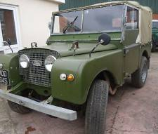 "Land Rover Series 1 80"" 1951 Used Daily Very Good Example"