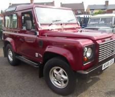 Land Rover 90 Defender 2.5 County Td5 7 Seater with air con 2000