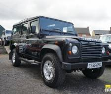 Land Rover 110 Defender 2.5 Td5 County 5 Door 2005 Black