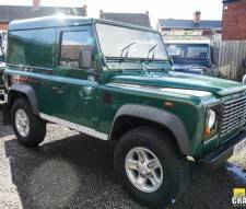 2006 Land Rover Defender 90 Td5 Van in Green Totally Standard