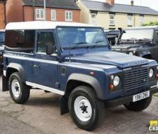 Land Rover 90 Defender Hard Top 2.2TD DPF 2012 with Panoramic Glass